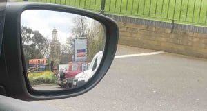 Learner Driver Wing Mirror